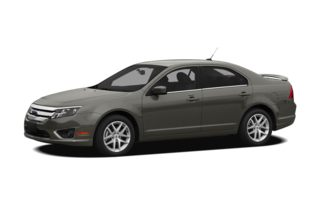 3/4 Front Glamour 2012 Ford Fusion