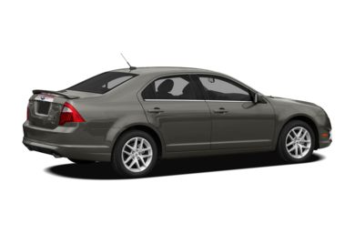 3/4 Rear Glamour  2012 Ford Fusion