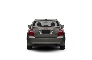 Surround Rear Profile 2012 Ford Fusion