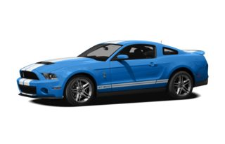 3/4 Front Glamour 2012 Ford Shelby GT500