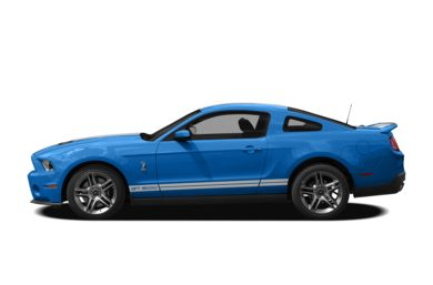90 Degree Profile 2012 Ford Shelby GT500