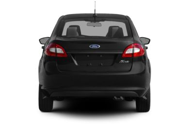 Rear Profile  2012 Ford Fiesta