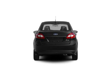 Surround Rear Profile 2012 Ford Fiesta