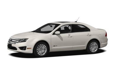 3/4 Front Glamour 2012 Ford Fusion Hybrid