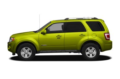 90 Degree Profile 2012 Ford Escape Hybrid