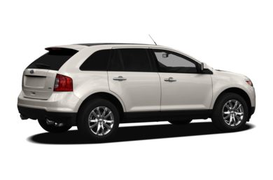 3/4 Rear Glamour  2012 Ford Edge