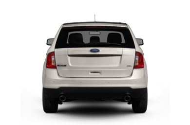Rear Profile  2012 Ford Edge