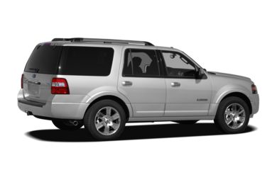 3/4 Rear Glamour  2012 Ford Expedition