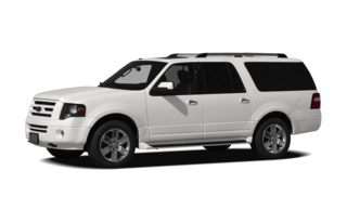 3/4 Front Glamour 2012 Ford Expedition EL