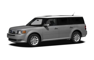3/4 Front Glamour 2012 Ford Flex