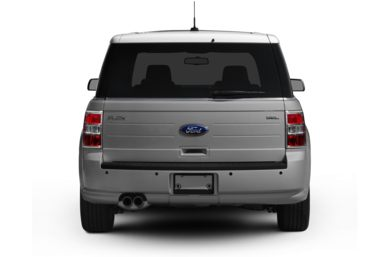 Rear Profile  2012 Ford Flex