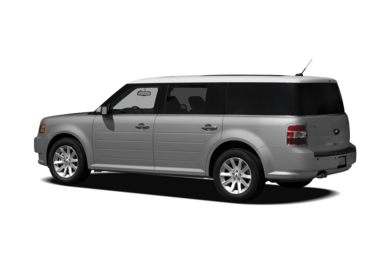 Surround 3/4 Rear - Drivers Side  2012 Ford Flex
