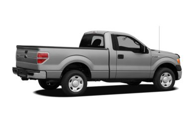 3/4 Rear Glamour  2012 Ford F-150