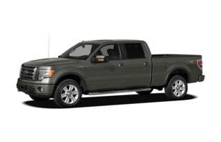 3/4 Front Glamour 2012 Ford F-150