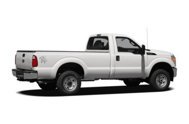 3/4 Rear Glamour  2012 Ford F-250