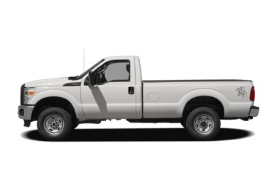90 Degree Profile 2012 Ford F-250