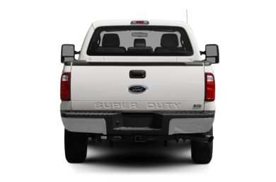 Rear Profile  2012 Ford F-250