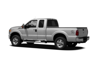 Surround 3/4 Rear - Drivers Side  2012 Ford F-250
