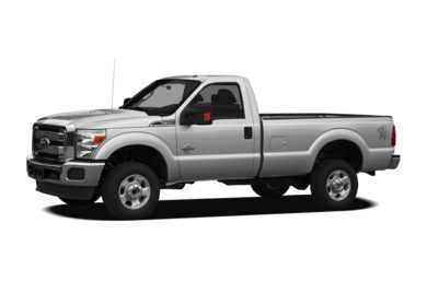 3/4 Front Glamour 2012 Ford F-350