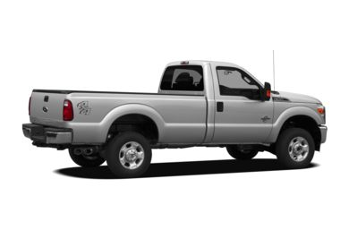 3/4 Rear Glamour  2012 Ford F-350