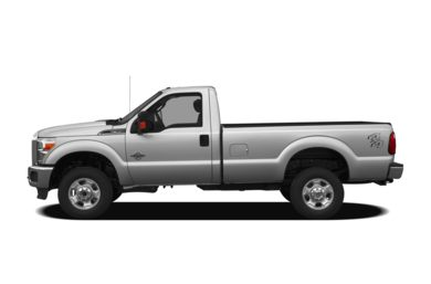 90 Degree Profile 2012 Ford F-350