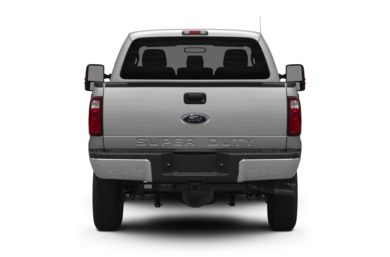 Rear Profile  2012 Ford F-350