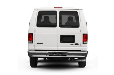 Rear Profile  2012 Ford E-250