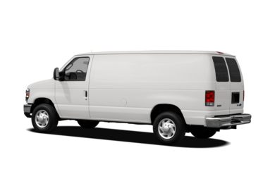 Surround 3/4 Rear - Drivers Side  2012 Ford E-250