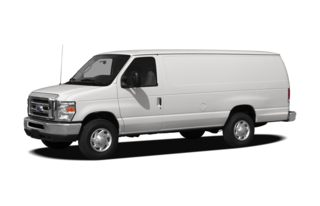 3/4 Front Glamour 2012 Ford E-250