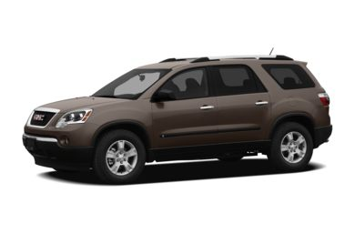 3/4 Front Glamour 2012 GMC Acadia