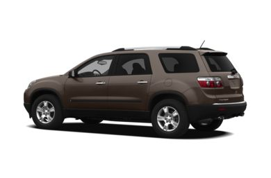 Surround 3/4 Rear - Drivers Side  2012 GMC Acadia