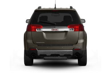 Rear Profile  2012 GMC Terrain