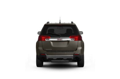 Surround Rear Profile 2012 GMC Terrain