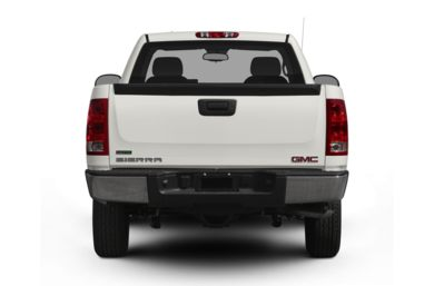 Rear Profile  2012 GMC Sierra 1500
