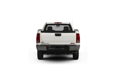 Surround Rear Profile 2012 GMC Sierra 1500