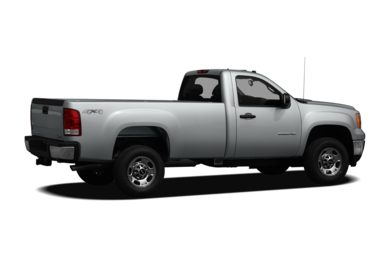 3/4 Rear Glamour  2012 GMC Sierra 3500HD