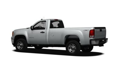 Surround 3/4 Rear - Drivers Side  2012 GMC Sierra 2500HD