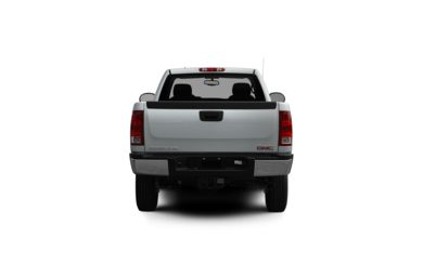 Surround Rear Profile 2012 GMC Sierra 2500HD