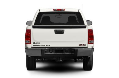Rear Profile  2012 GMC Sierra 1500 Hybrid