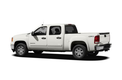 Surround 3/4 Rear - Drivers Side  2012 GMC Sierra 1500 Hybrid
