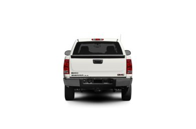 Surround Rear Profile 2012 GMC Sierra 1500 Hybrid