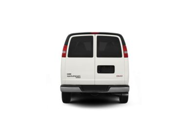 Surround Rear Profile 2012 GMC Savana 3500