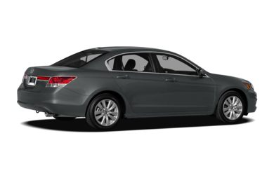 3/4 Rear Glamour  2012 Honda Accord