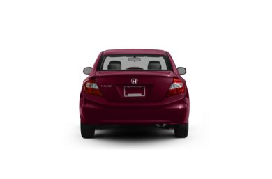 Surround Rear Profile 2012 Honda Civic