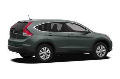 3/4 Rear Glamour  2012 Honda CR-V