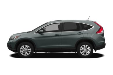 90 Degree Profile 2012 Honda CR-V