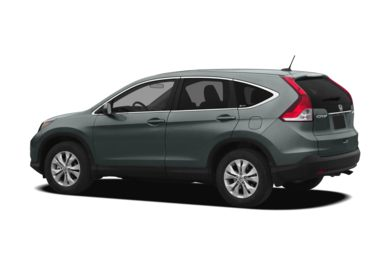 Surround 3/4 Rear - Drivers Side  2012 Honda CR-V