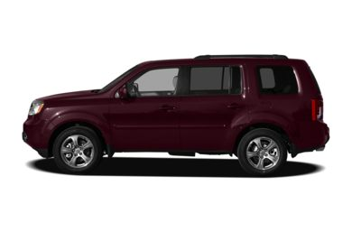 90 Degree Profile 2012 Honda Pilot