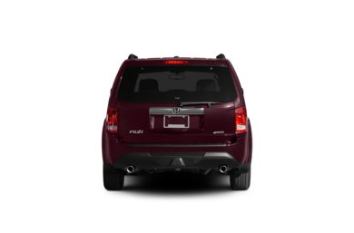 Surround Rear Profile 2012 Honda Pilot