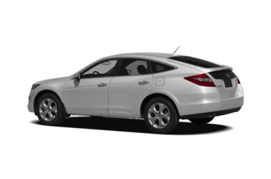Surround 3/4 Rear - Drivers Side  2012 Honda Crosstour